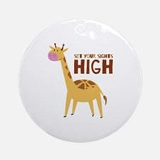 Sights High Ornament (Round)