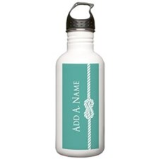Turquoise Custom Perso Water Bottle