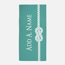 Turquoise Custom Personalized Beach Towel