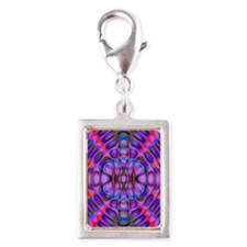 Diffraction Pattern Purple Charms