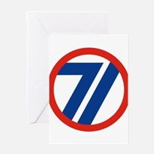 71ST Infantry Division Greeting Cards