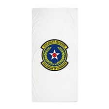 457th Airlift Squadron Beach Towel