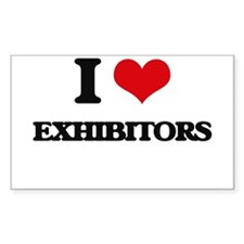 I love Exhibitors Decal