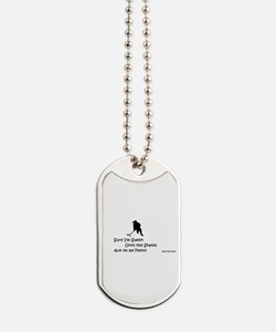 Sweet Until Skates on Feet Dog Tags