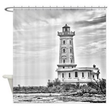 Point Abino 1 Shower Curtain