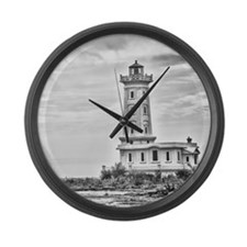 Point Abino 1 Large Wall Clock