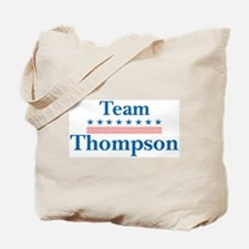 Team Thompson Tote Bag