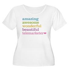 Telemarketer Plus Size T-Shirt
