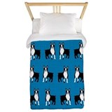 Boston terrier twin duvet Twin Duvet Covers