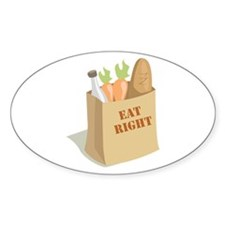 Groceries_Eat_Right Decal