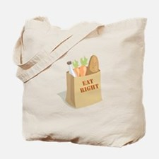 Groceries_Eat_Right Tote Bag