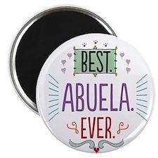 "Best Abuela Ever 2.25"" Magnet (10 pack)"