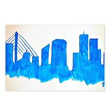 Cute Boston Postcards (Package of 8)