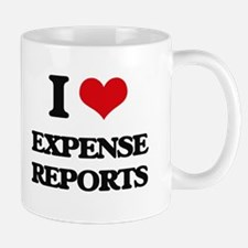 I love Expense Reports Mugs