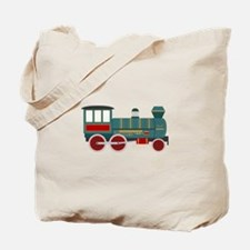 Train Engine Tote Bag