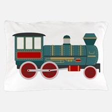 Train Engine Pillow Case