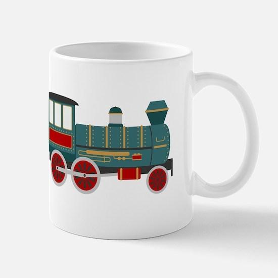 Train Engine Mugs
