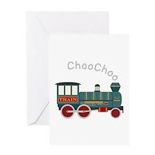 Choo Choo Train Greeting Cards