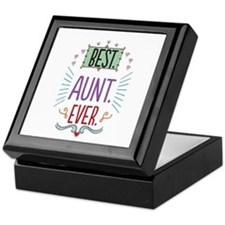 Best Aunt Ever Keepsake Box