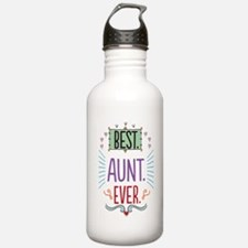 Best Aunt Ever Sports Water Bottle
