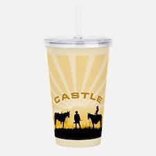 Castle Acrylic Double-wall Tumbler