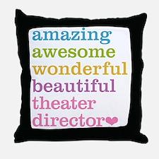 Theater Director Throw Pillow