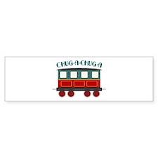 Chug A Train Bumper Bumper Sticker