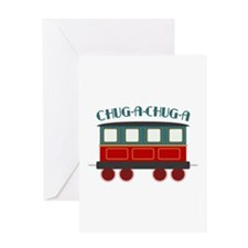 Chug A Train Greeting Cards