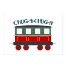 Chug A Train Postcards (Package of 8)