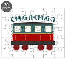 Chug A Train Puzzle
