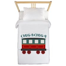 Chug A Train Twin Duvet