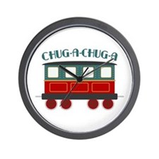 Chug A Train Wall Clock