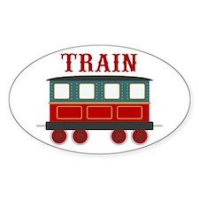 Train Car Decal