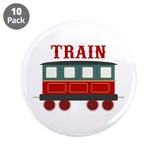 "Train Car 3.5"" Button (10 pack)"