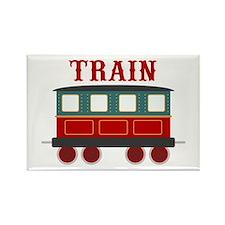Train Car Magnets