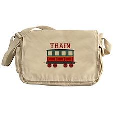 Train Car Messenger Bag