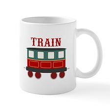 Train Car Mugs