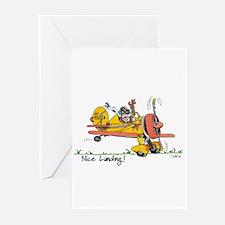 Nice Landing Greeting Cards (Pk of 10)