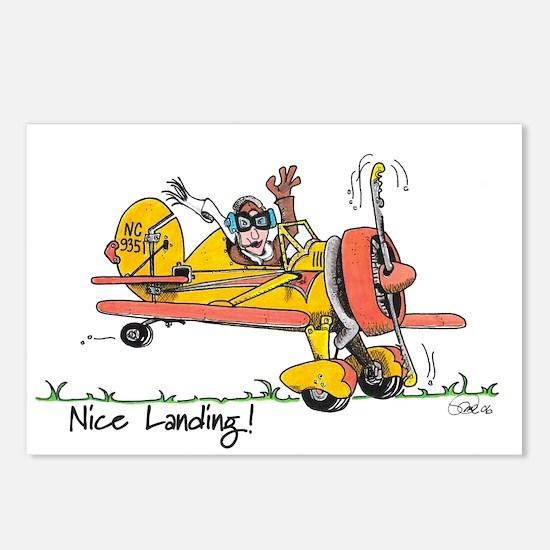 Nice Landing Postcards (Package of 8)