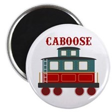 Train Caboose Magnets