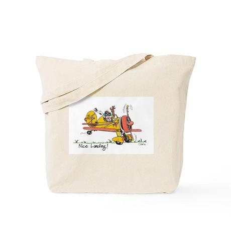 Nice Landing Tote Bag
