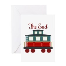 The End Greeting Cards