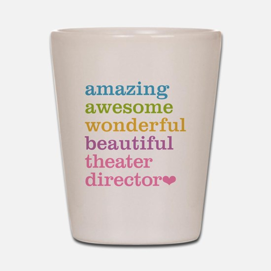 Theater Director Shot Glass