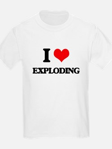I love Exploding T-Shirt