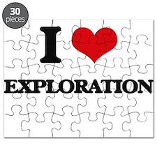I Love Exploration Puzzle