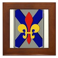 256th Infantry Brigade.png Framed Tile