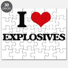 I love Explosives Puzzle