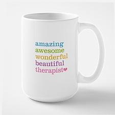 Awesome Therapist Large Mug