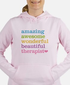 Awesome Therapist Women's Hooded Sweatshirt