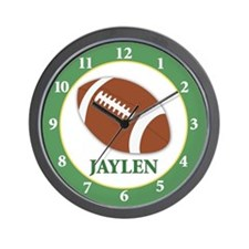 Football Clock - Jaylen Green Wall Clock